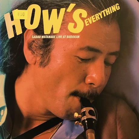 HOW'S EVERYTHING (Live)  /  WATANABE SADAO (LP)