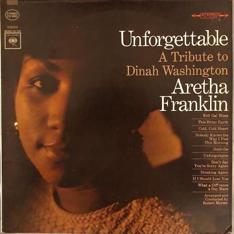 UNFORGETTABLE  /  ARETHA FRANKLIN  (LP)