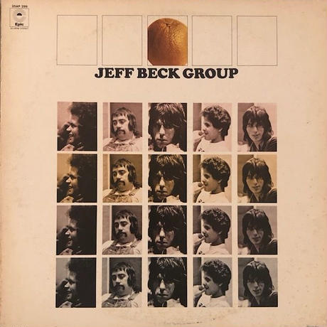 JEFF BECK  /  JEFF BECK GROUP  (LP)
