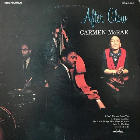 AFTER GLOW  /  CARMEN McRAE (LP)
