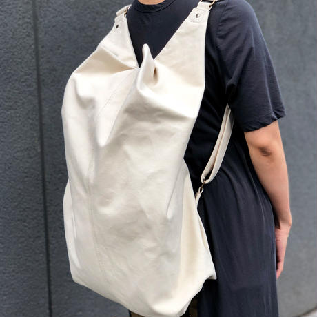 2 WAY BAG  White