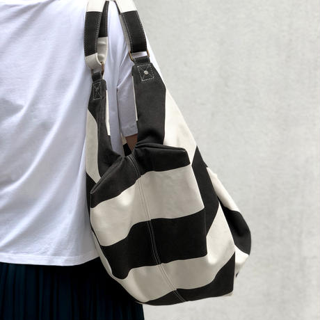 2 WAY BAG  Striped