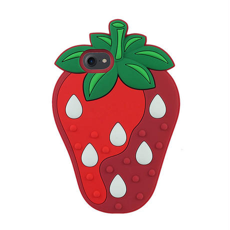 Strawberry Silicon iPhone Case