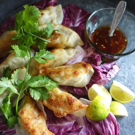 干し胡瓜と鶏のレモン餃子(10個)/ヤスダ屋