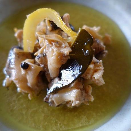 ケツブのレモンハーブオイル煮(100g)/ヤスダ屋