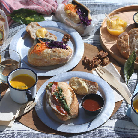 HIYORI BROT × catering for me! 春のサンドイッチセット(2人分) 4月11〜12日発送分