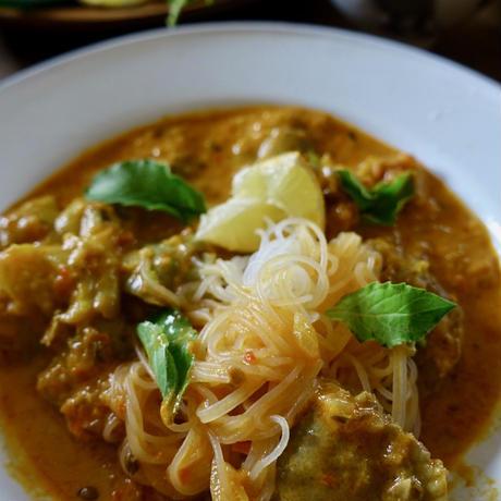 茄子と砂肝のココナッツカレー(200g)/ヤスダ屋