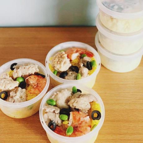 海老とチキンのパエリア(240g)/catering team Perch.
