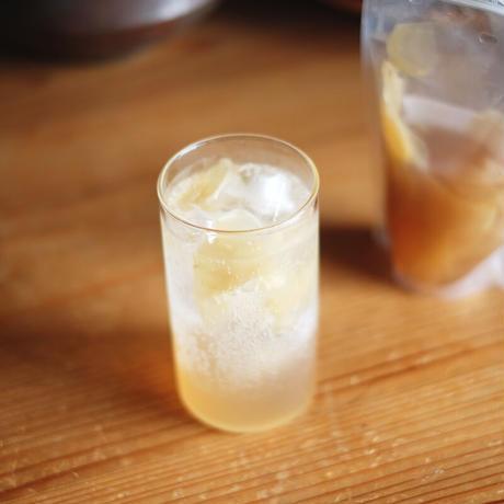 長崎県しまばら産 新生姜のシロップ(生姜たっぷり入り大容量)(300g)/山フーズ