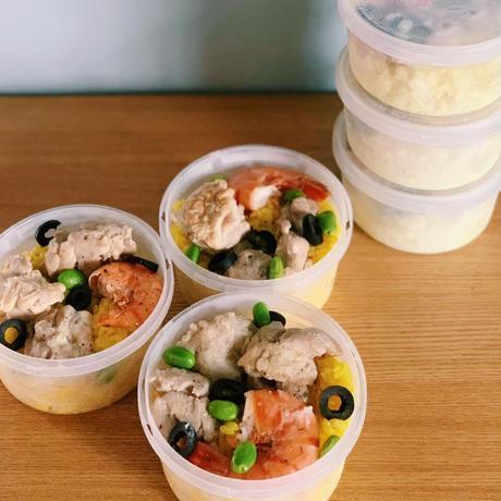 エビと鶏肉のパエリア 6食セット(クール便でお届け)