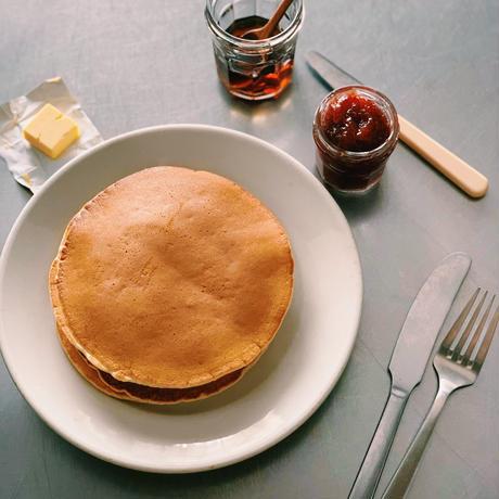 【限定】季節のジャム2種と塩パンケーキミックス+コーヒー豆(常温でお届け)