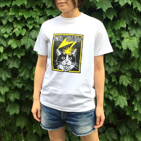 【CATBRAINS】Tshirts_White