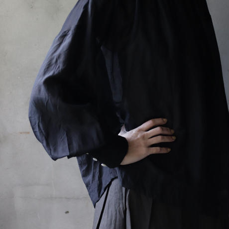 cavane キャヴァネ / Pull-over blouse with tieブラウス / ca-21001B