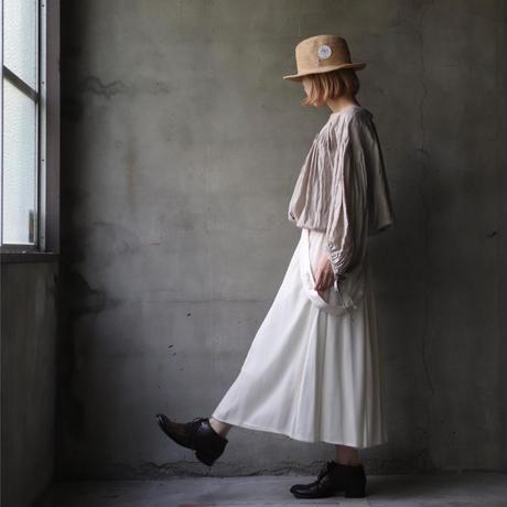 cavane キャヴァネ /  Buttoned open blouseブラウス  / ca-21059