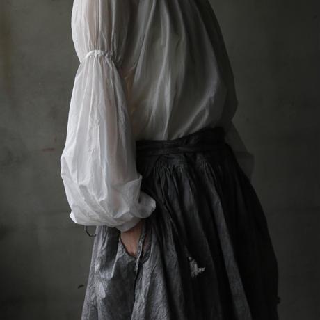 cavane キャヴァネ /   Sleeve-gather Blouseブラウス / ca-19041