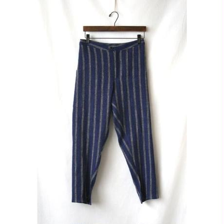 Tabrik タブリク /  stripe pantsパンツ / ta-14009bl