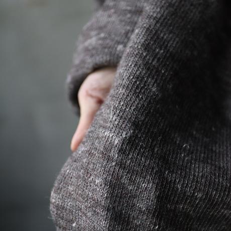 cavane キャヴァネ /   Balloon sleeve hnit coatコート  / ca-20116