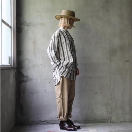 cavane キャヴァネ / Stand coll-shirtシャツ / ca-21067