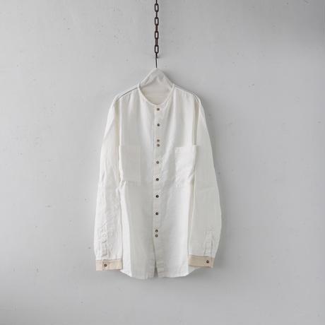 MAVRANYMA  / Linen work-shirtシャツ / Mav-19003