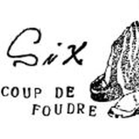 Six coup de foudre シス クード フードル/ frame  bag / six-21001(SHO-62)