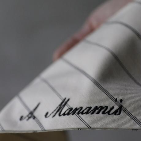 ALEKSANDR MANAMISアレクサンドルマナミス/ FARMERS LONG SCARFスカーフ/ am-21014