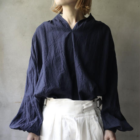 cavane キャヴァネ /  Smock blouseスモックブラウス / ca-20125N