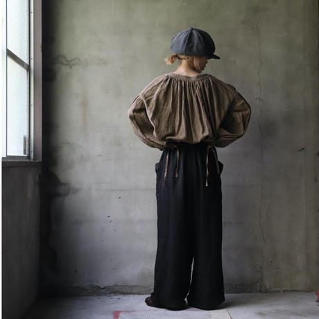cavane キャヴァネ / Waist frill wide pantsワイドパンツ /  ca-20138