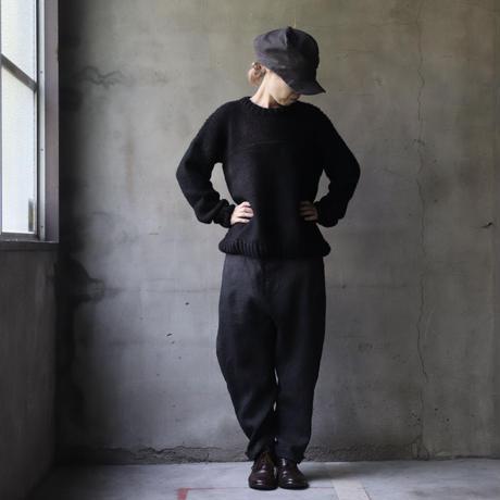 BIEK VERSTAPPEN / Hand-knit fisherman's sweater   / Bie-21013