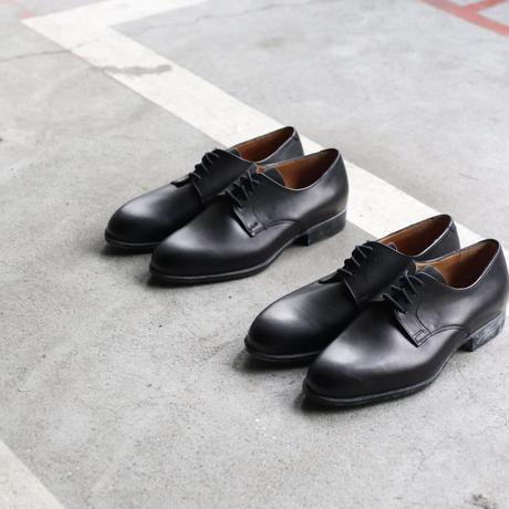 Euro select ユーロセレクト  / Dead stock French service Blucher plain toe革靴  / eu-21003
