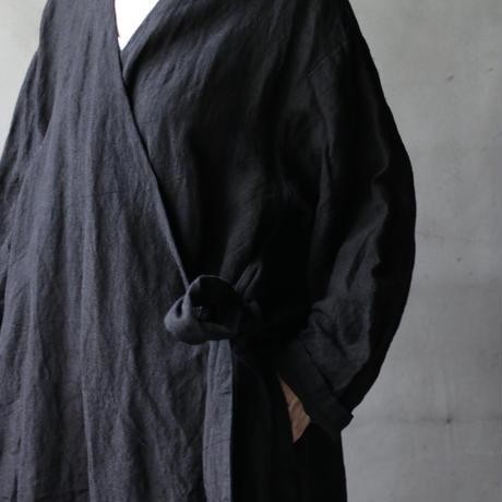 cavane キャヴァネ / cache-cœur robe-coatローブドレス / ca-19054B