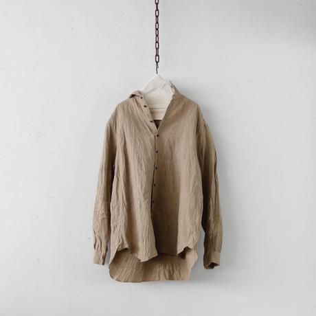cavane キャヴァネ / Plain over-shirtシャツ / ca-19075
