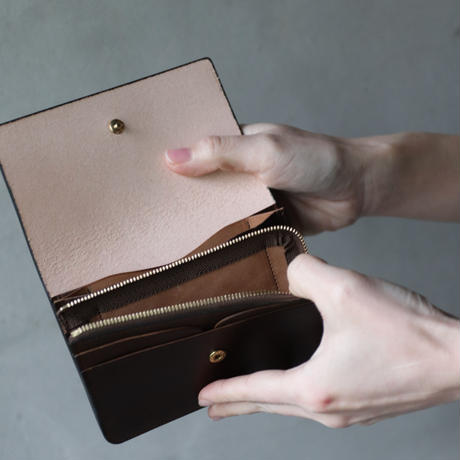 formeフォルメ /  Bridle leather Hand wallet combi財布 /  fo-20037 ( fip-20 )
