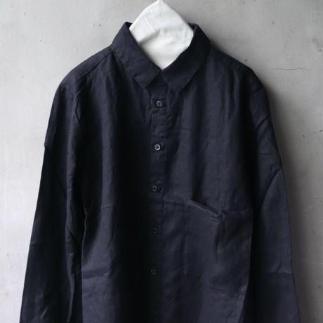 ALEKSANDR MANAMISアレクサンドルマナミス/ LINEN CLASSIC SHIRTシャツ/ am-20013