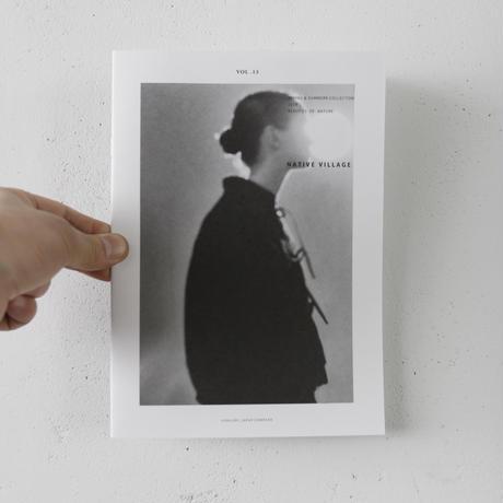 NATIVE VILLAGE ネイティブヴィレッジ / ロングフロントブラウス/  na-19006