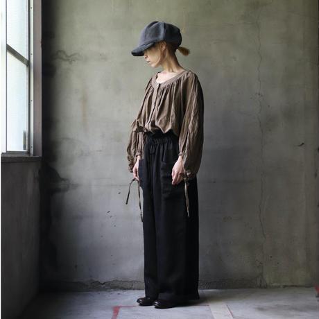 cavane キャヴァネ /  Buttoned open blouseブラウス  / ca-20137