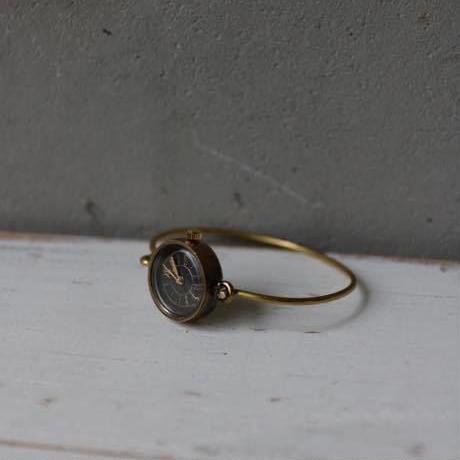 Accessories / 真鍮バングル時計Brass bangle watch / ca-17000