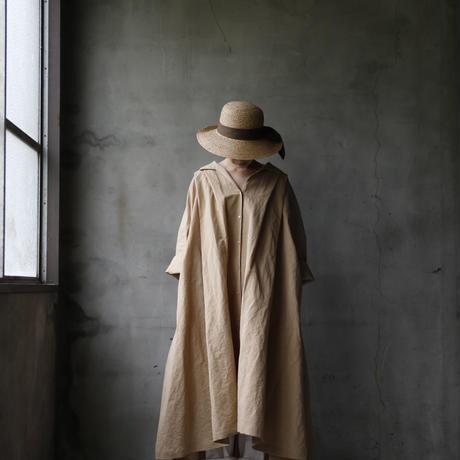 cavane キャヴァネ / Wide shirt one-piece dressワイドドレス / ca-19040