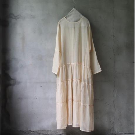 Tabrik タブリク / Vintage fabric tiered dressワンピース/ ta-21015