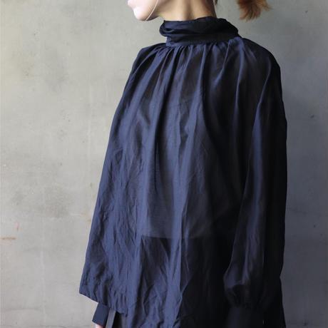 cavane キャヴァネ /  【受注予約】 Pull-over blouse with tieブラウス / ca-21001