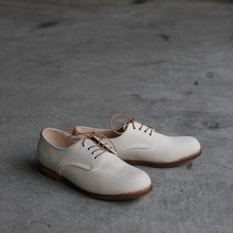 Tatamba  / Derby plain toe canvas shoesシューズ / Tat-19001