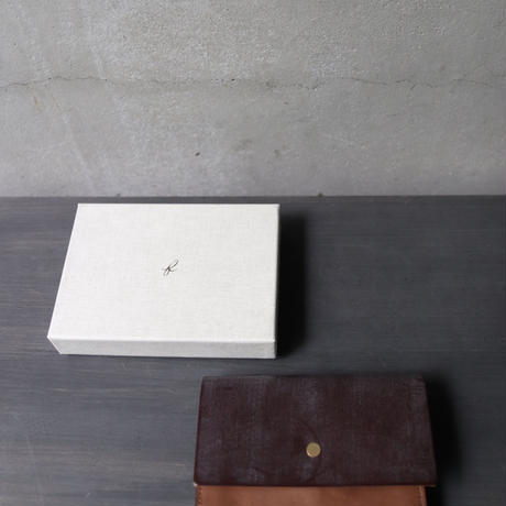formeフォルメ /  Bridle leather Hand wallet combi財布 /   fo-21014 ( fip-20 )