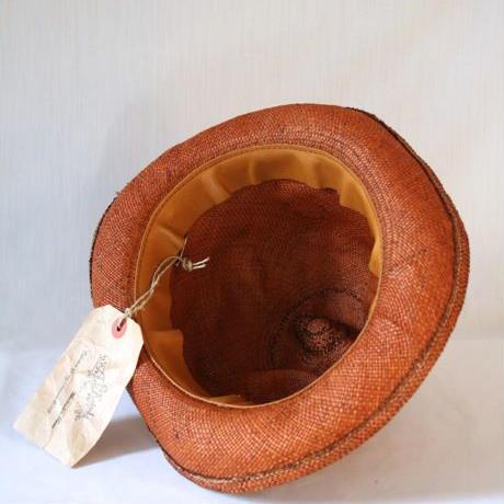 Aski Kataski アスキカタスキ / 帽子Hand mold panama hat / ak-15000
