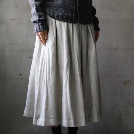 cavane キャヴァネ / Pleated tuck-skirtプリーツタックスカート / ca-17080