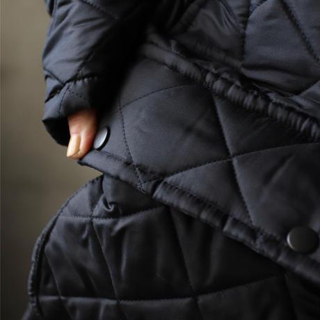BEAVER of Boltonビーバーオブボルトン / BORDER キルティングロングジャケット/ be-20001