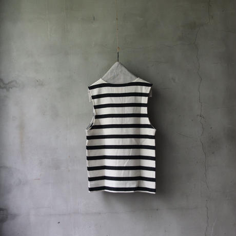 cavane キャヴァネ / home decor & living wear with stay home border vest/ ca-21600