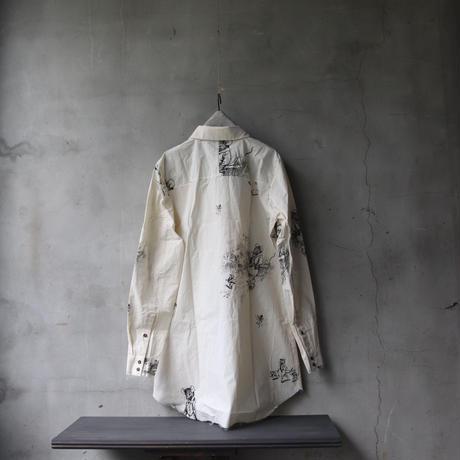 ALEKSANDR MANAMISアレクサンドルマナミス/ FABLE PRINT SHIRTシャツ/ am-21004