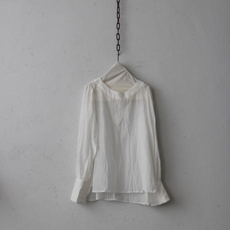 cavane キャヴァネ /  【受注】Pullover-blouse プルオーバーブラウス / ca-19013