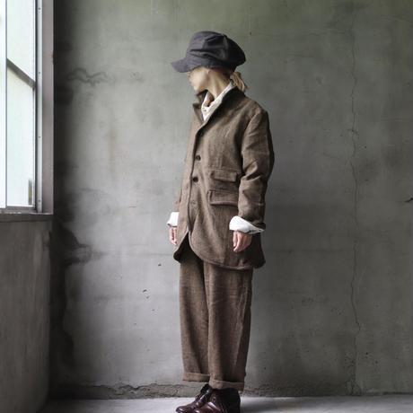 ALEKSANDR MANAMISアレクサンドルマナミス/ HERRINGBONE WIRE JACKET / am-21009