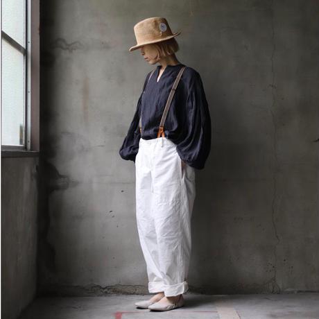 cavane キャヴァネ / over pants with suspendersオーバーパンツ /  ca-21051(Hold)