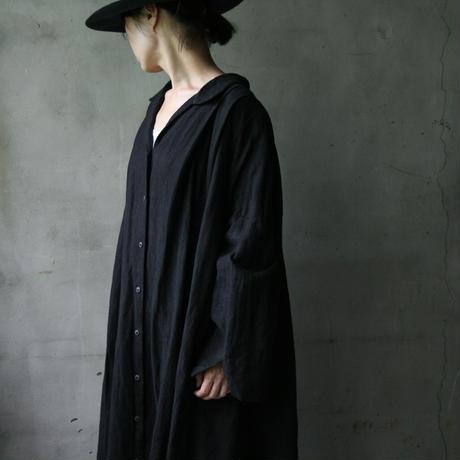 cavane キャヴァネ / Wide shirt one-piece dressワイドドレス  / ca-19085